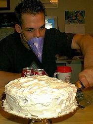Trevor's dime cake