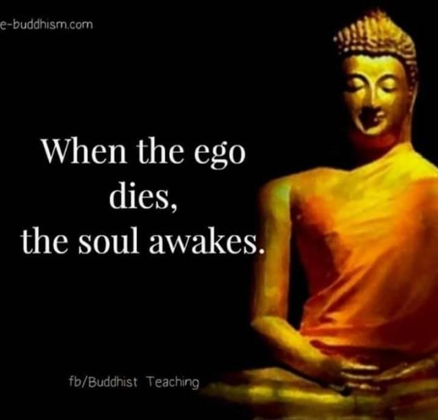 ego dies soul awakens