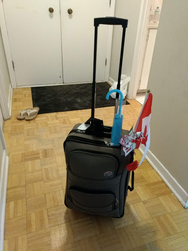 homeless luggage montreal airbnb